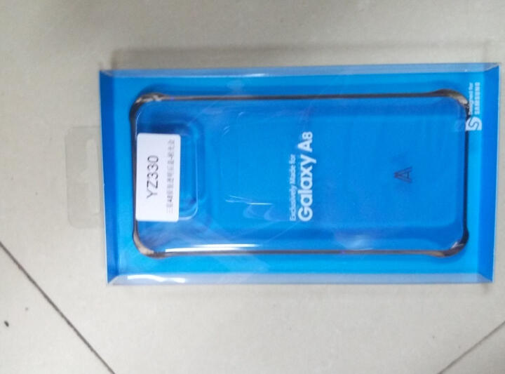 三星(Samsung) A8透明后盖/手机壳 适用于SM-A800F SM-A8000套 柏光金 晒单图