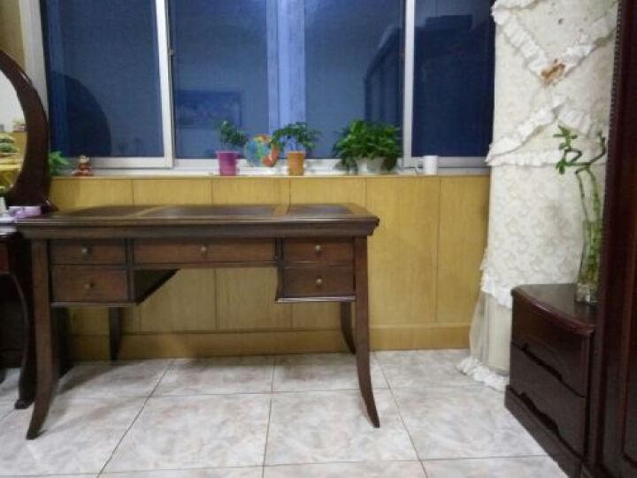 Markbest 品之印 美式实木书桌 电脑桌带抽屉办公桌 写字台学习桌 单张书桌(樱桃色) 晒单图