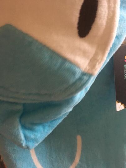 翻斗乐儿童棉质浴巾卡通斗篷浴披含棉浴袍宝宝浴衣百变带帽沙滩巾小孩毛巾婴儿洗澡巾游泳巾擦巾 绿色青蛙 全长150CM*宽68CM(身高110-135cm 晒单图