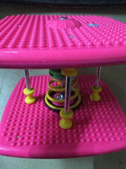 saluko双弹簧减肥塑身扭腰机跳舞机家用运动踏步机健身扭扭乐扭腰盘 粉色加强型 晒单图