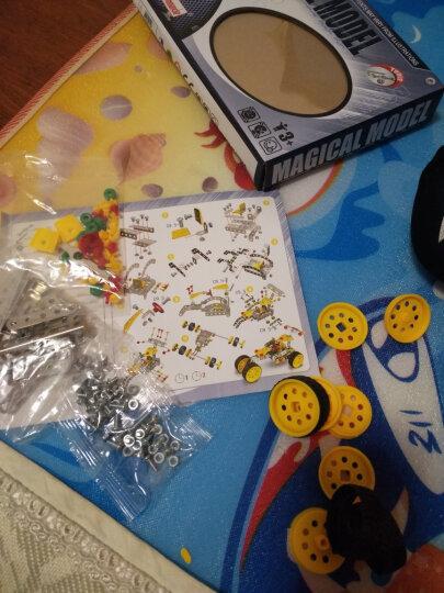 儿童积木玩具 男孩金属模型拼插遥控拼装车6岁以上礼物 F1赛车(非遥控) 晒单图