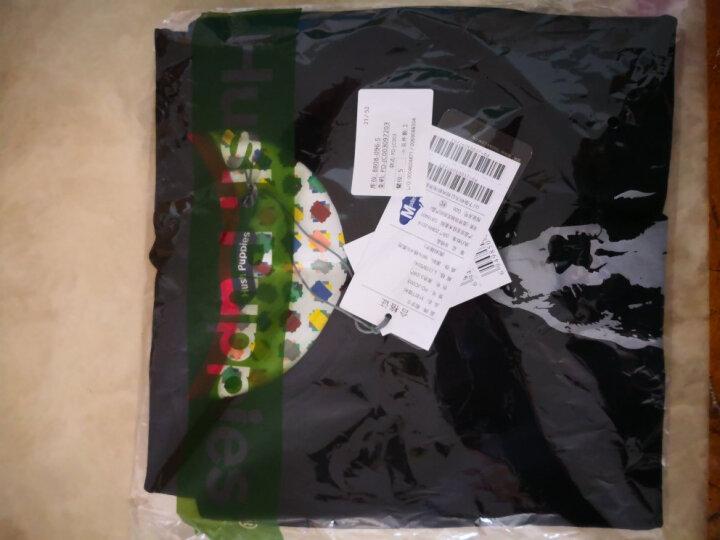 HushPuppies暇步士男装logo印花圆领短袖男士T恤|PD-JC003 浅灰-038 XL 晒单图