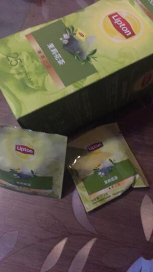 立顿Lipton原叶茶叶茉莉花茶三角茶包袋泡茶下午茶调味茶1.4g*25 晒单图
