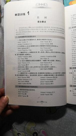 中考英语词汇手册(附赠MP3光盘1张) 晒单图