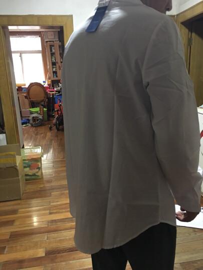 蔚曼 衬衫女长袖中长款纯棉衬衣女2019秋装新款打底棉上衣 WM0086 加绒(冬款) XL 晒单图