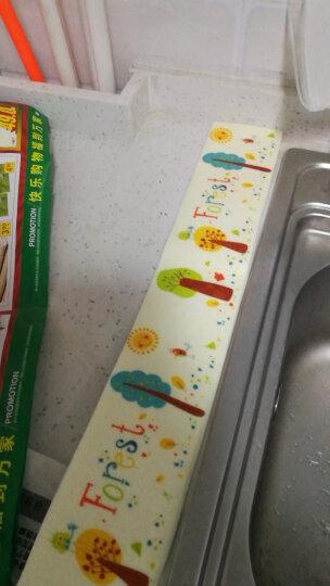 厨房防油贴纸耐高温厨房墙贴瓷砖贴纸防水墙贴可定制油烟机橱柜贴 享受烹饪(宽90cm*高60cm) 晒单图