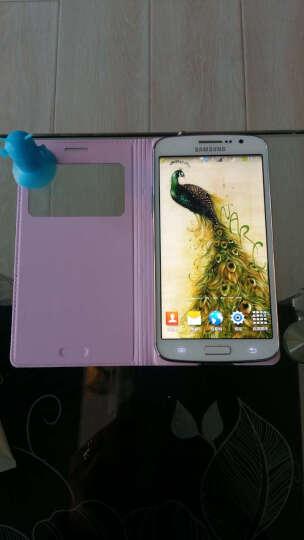 韩菲琪 智能保护套手机套适用于三星G7106/g7102/g7108v/g7109皮套 壳 前卫粉 晒单图
