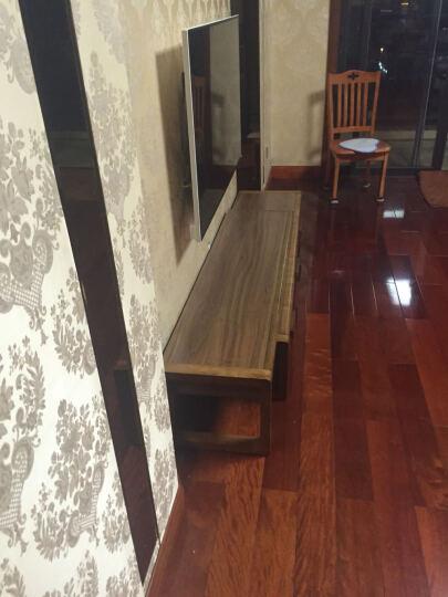 易达彼思 电视柜茶几组合胡桃实木套装沙发地柜可伸缩活动柜简约时尚 6303茶几+6201电视柜+沙发 晒单图