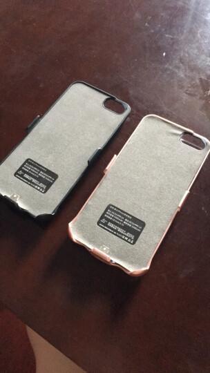 【次日达】泰火超薄小巧充电宝苹果手机壳iphone6/7/8plus背夹电池XR/XSMAX移动电源 小屏4.7酷黑(8/7/6/6S)大容量 晒单图