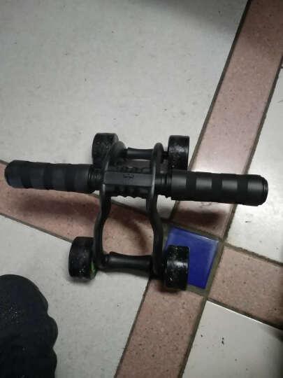 凯速(KANSOON) 凯速 健腹轮腹肌轮俯卧撑轮健身器材家用稳定轴承滚轮滑轮巨轮 自动回弹健腹轮 晒单图