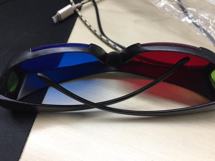 宏影(HONGYING) 红蓝3D眼镜左右立体效果红蓝3D眼镜 电脑电视手机平板通用3D 红蓝3D眼镜 晒单图