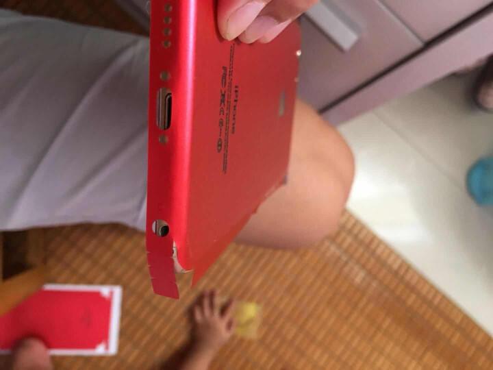 iPhone6s4.7全身贴膜iphone6plus包边背膜贴纸6p苹果手机彩膜冰膜 iPhone6plus-灰色 晒单图