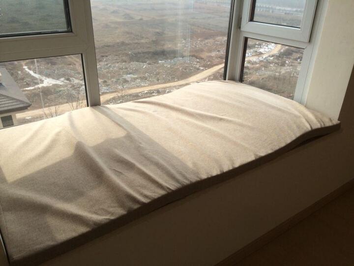 供民 高密度海绵垫飘窗垫窗台垫子定做加厚布艺沙发垫套椅垫榻榻米卡坐垫 飘窗垫定制请联系客服 晒单图