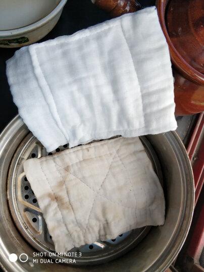 华鲁 全脱脂纱布口罩医用纯棉 防尘 加厚劳保口罩一次性 12层16层可水洗防病毒 10个(16层纱布口罩) 晒单图