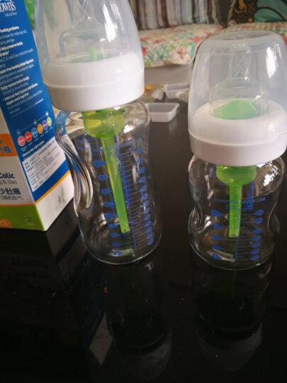 布朗博士(DrBrown's)奶瓶 婴儿奶瓶 宽口径玻璃新生儿奶瓶套装150ml+270ml(自带0-3个月奶嘴)欧盟进口 晒单图
