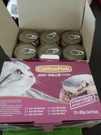 泰国进口猫罐头 乐味多猫罐头 深海之鲜金装猫粮85g*12罐吞拿鱼系列猫罐头 零食湿粮包 85g*24罐 晒单图