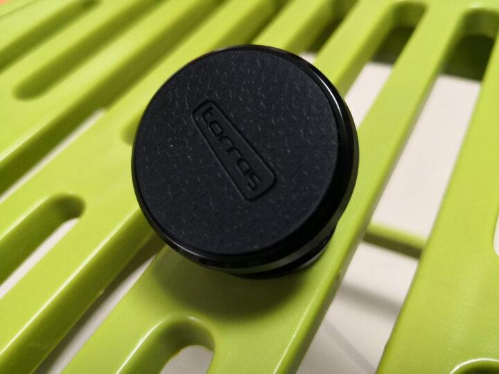 图拉斯(TORRAS)车载手机支架 汽车出风口卡扣磁吸式 适用4-8英寸手机平板导航通用汽车  皮质卡扣版-亮黑色 晒单图