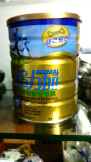 惠氏(Wyeth) 港版倍力加均衡营养素 成人奶粉 学生中老年营养蛋白质牛奶粉 900克 呍呢拿味 1罐 晒单图