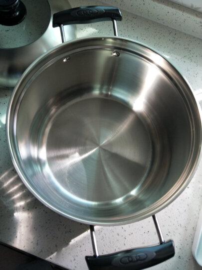 苏泊尔复底加厚24cm不锈钢汤蒸锅多用锅电磁炉通用单层SZ24S1 晒单图