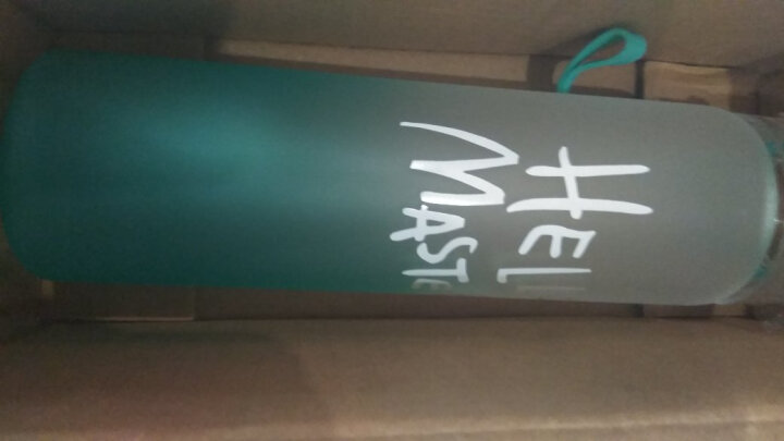 自然石 韩式个性男女水杯钻石杯柠檬杯磨砂透明玻璃杯学生细长玻璃水杯 天空蓝(渐变磨砂)450ml 晒单图