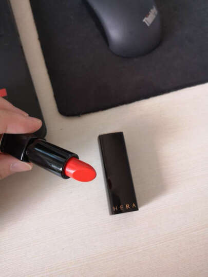 赫拉(HERA) 口红唇膏魅惑炫彩全智贤朴敏英同款 340#GORGEOUS RED 晒单图