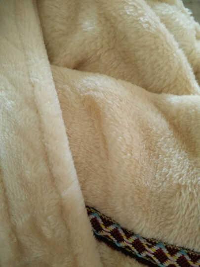爱尊仕 情侣睡衣男女秋冬新款法兰绒情侣睡袍男士女士家居服酒店浴袍 浅咖啡男 99元是一件,2件9折 晒单图