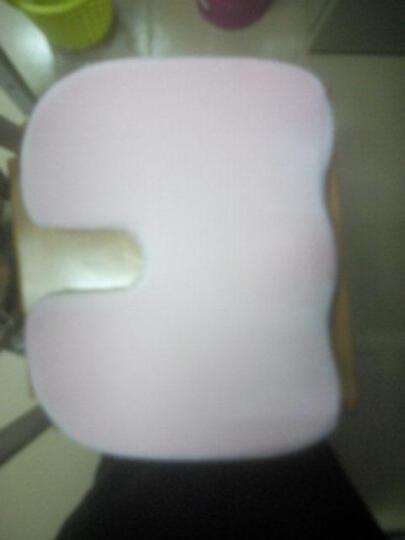 C.Life 怡眠 坐垫抱枕靠垫 塑臀记忆棉 u型翘臀垫 提臀瘦臀办公椅垫 椅子垫 美臀坐垫 樱花粉 45*35厘米 晒单图