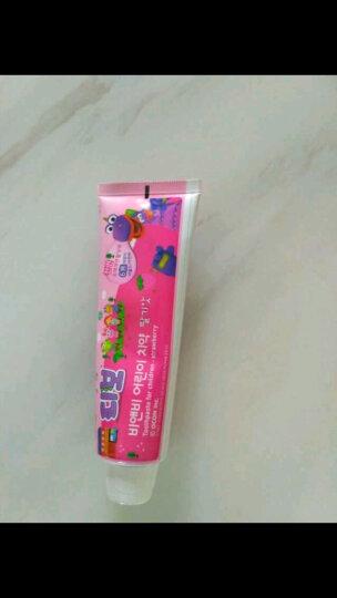 保宁(B&B)幼儿儿童牙膏 橙子90g 适合4岁以上 晒单图