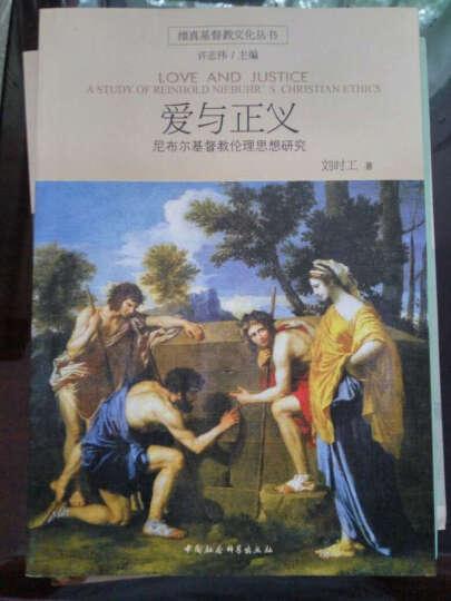 维真基督教文化丛书·爱与正义:尼布尔基督教伦理思想研究 晒单图