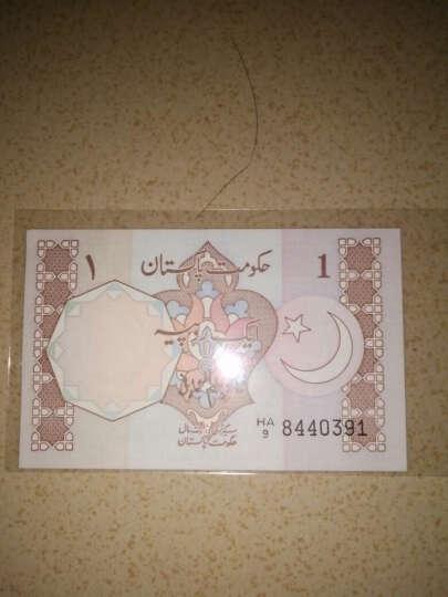 聚优尚  全新亚洲巴基斯坦纸币收藏品 外国退出流通钱币 1卢比钞纸钞1张 晒单图