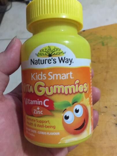 Nature's Way 【澳洲直邮包邮】进口佳思敏儿童复合维生素软糖鱼油系列 维生素C+补锌软糖柠檬味 晒单图