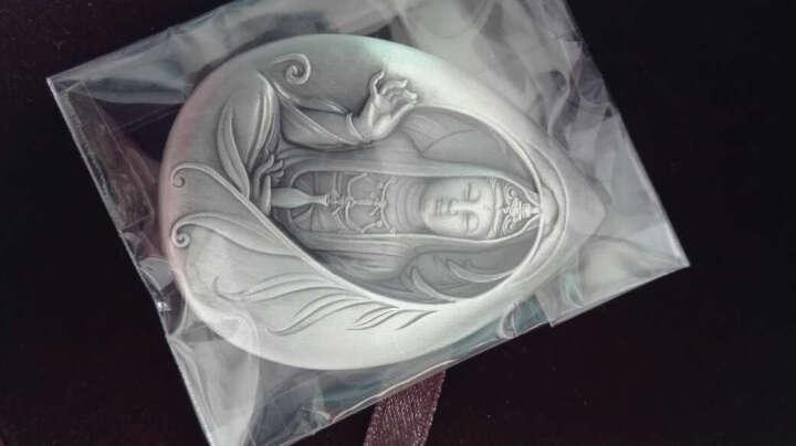 东泉钱币 中国金币 佛像弥勒纪念银章 200克 晒单图