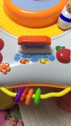 谷雨儿童游戏桌 宝宝益智早教中英双语多功能学习桌 游戏桌 晒单图