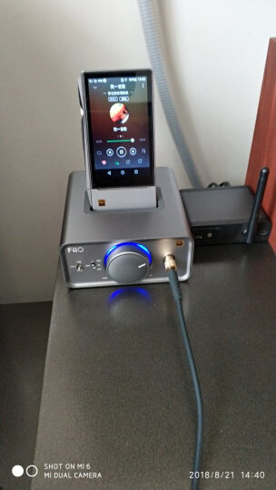 飞傲(FiiO)K5 台式耳放X7/X5/X3/X1播放器座驾 晒单图