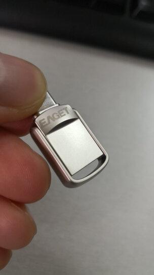 忆捷(EAGET) 32GB Lightning USB3.0苹果U盘 i80苹果MFI认证指纹加密iphone/ipad轻松扩容手机电脑多用优盘 晒单图