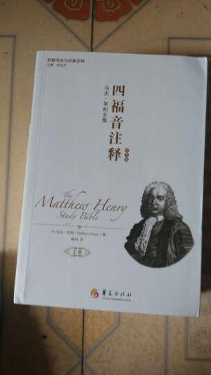 新教传统与经典注释·四福音注释:马太·亨利文集(套装共2册) 晒单图