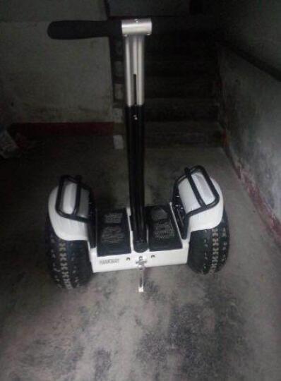 恒立通(HLT) 恒立通两轮电动平衡车越野平行车思维车智能体感代步车双轮车大轮子代步神器 白色越野铅酸36 晒单图