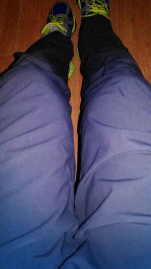 极星户外男女春夏弹力速干徒步登山运动修身长裤AGPB11353 女-黑色 L 晒单图