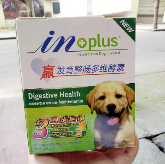 憨憨乐园 宠物狗狗发育宝肠胃宝保健益生菌促进幼犬发育成长套装调理肠 发育整肠280g 晒单图