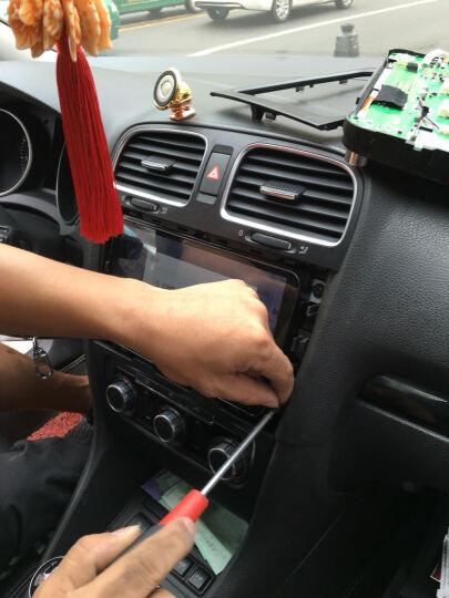 途新 大众朗逸速腾迈腾途观斯柯达明锐捷达新宝来帕萨特polo新桑塔纳车机汽车倒车影像车载导航一体机 高通4G+WIFI-包安装 晒单图