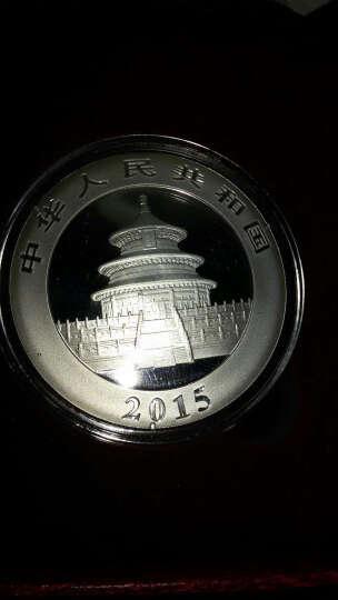 中国金币(china gold coin)2015年熊猫银币1盎司银币 红盒包装 晒单图
