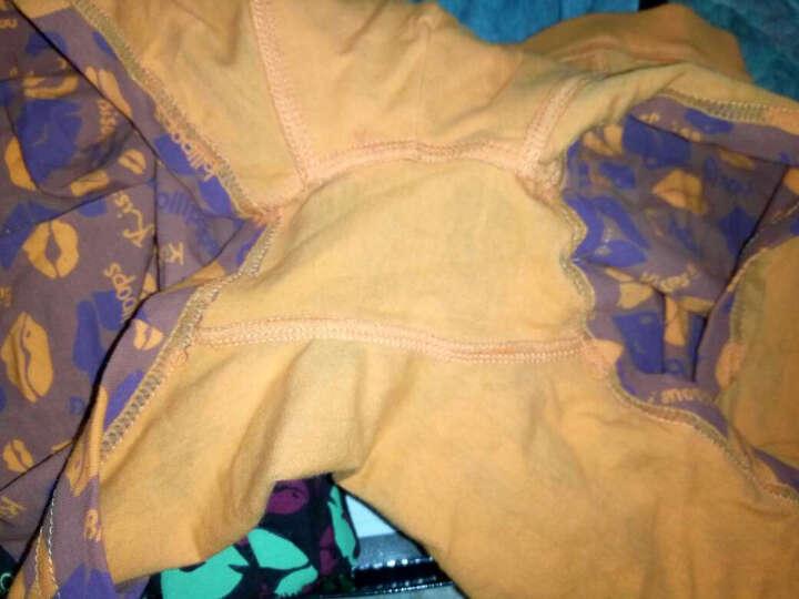 南极人男士内裤男夏季冰丝纯棉平角裤U凸透气4条装新款男式内裤 铁桶装20699 L(170/90) 晒单图
