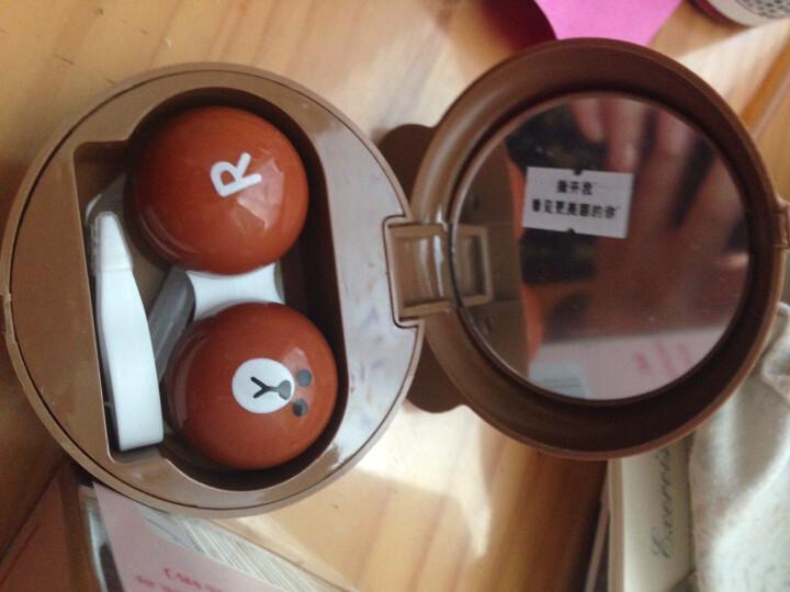 可啦啦美瞳护理液隐形眼镜药水500ml+120ml清洁除蛋白送美瞳镜盒KLL (套装送盒子)护理液500ml+120ml 晒单图