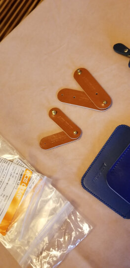 【X】超纤舒适小巧双层卡片包 零钱包公车卡地铁卡包收纳包 蓝色 晒单图
