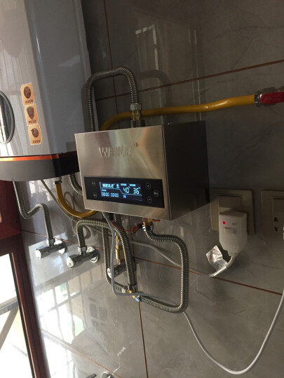 威乐回水器循环泵智能热水循环系统家用热水循环泵空气能回水泵 铜泵 T100M(遥控+水控+定时+温控)100W 晒单图