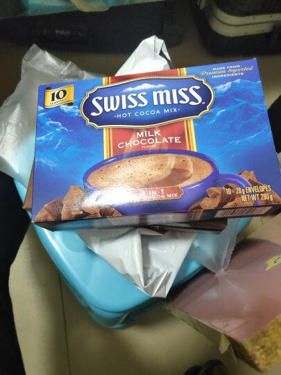 【2份立减】瑞士小姐Swiss Miss牛奶巧克力冲饮粉可可粉每盒8包冲饮热巧克力粉 牛奶280g*2 晒单图
