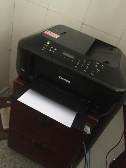 佳能(Canon) E618 经济彩色喷墨传真一体机(打印 复印 扫描 传真)2年保修 晒单图