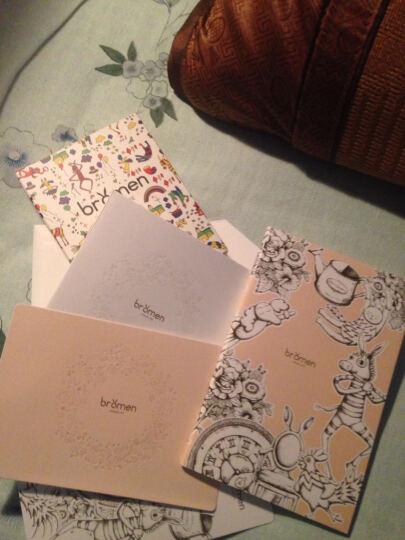 不莱玫  印花原创卡包可爱多卡位卡片包小版 复古棕 小版 晒单图