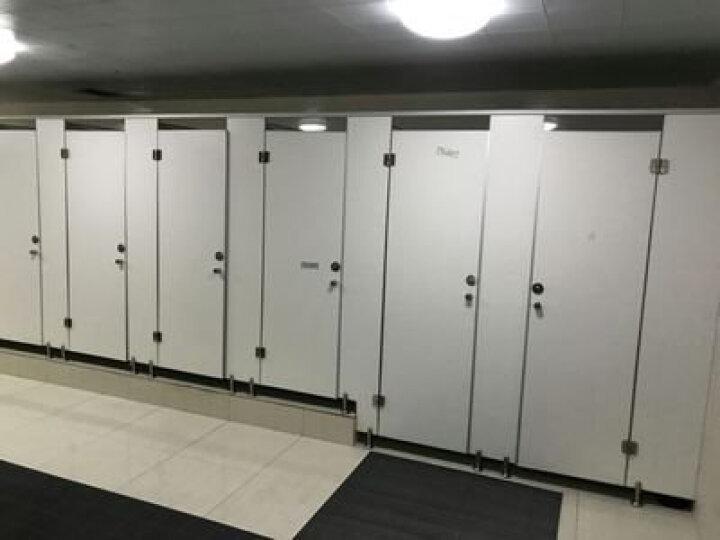 卓升(Zhuosheng) 卫生间隔断板公共厕所隔断门更衣室沐浴间PVC防水防火抗倍特板 定制 晒单图