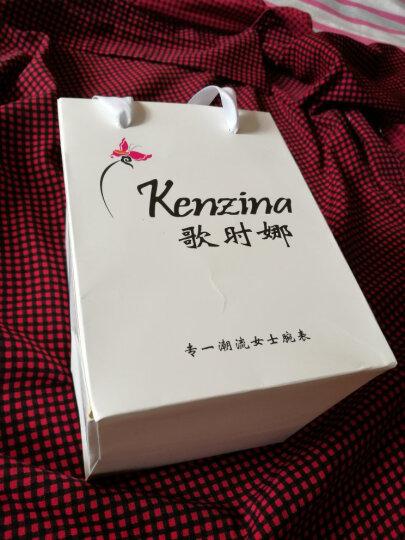 歌时娜(Kenzina)女士手表 女表手表石英手镯款韩版时尚表防水潮流腕表K6171 太妃糖色 晒单图